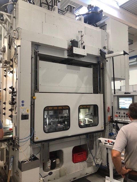 used Presses double-sided high speed press KAISER V 200 W / 1840