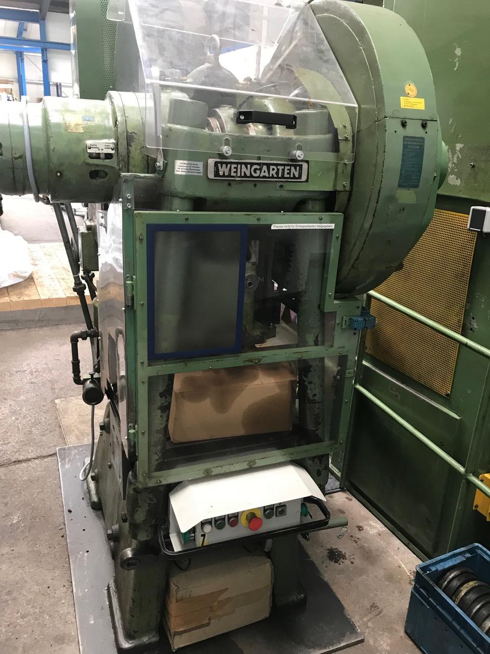 used Presses double-sided high speed press WEINGARTEN XKSHW