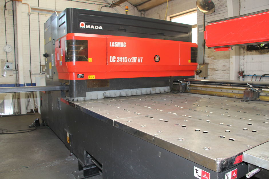 used  Laser Cutting Machine Amada LC 2415 Alpha IV NT - 4 kW