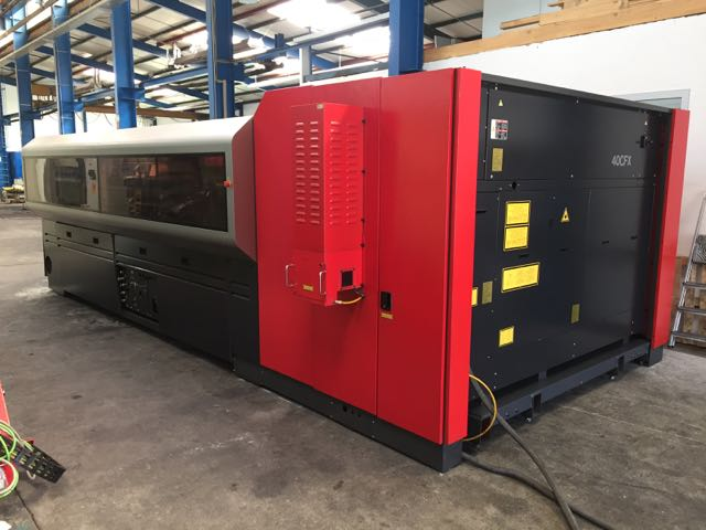 used  Laser Cutting Machine Amada LC 3015 X1 NT - 4 kW