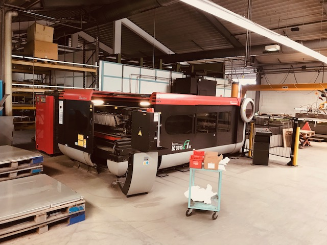 used  Laser Cutting Machine Amada LC 3015 F1 NT - 4kW