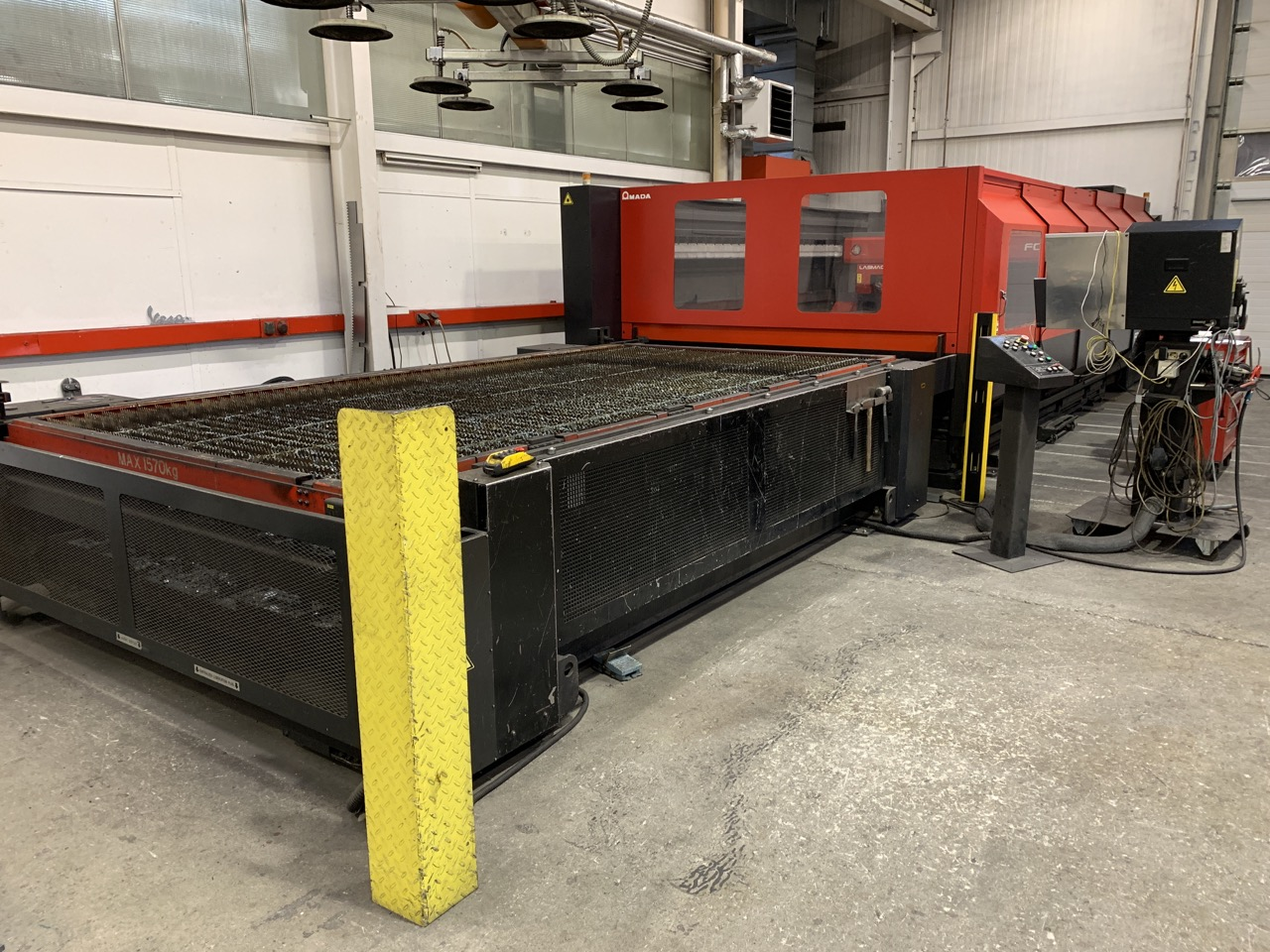 used  Laser Cutting Machine Amada FO 4020 NT