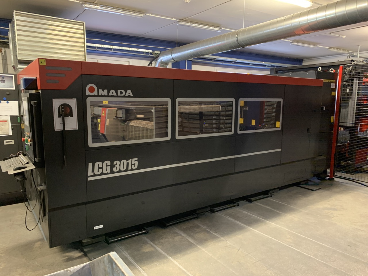 used  Laser Cutting Machine Amada LCG 3015 - 3,5 kW