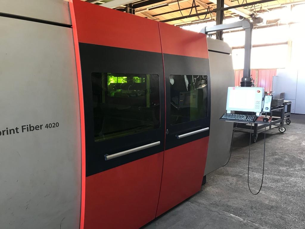 used  Laser Cutting Machine Bystronic Bysprint Fiber 4020 - 3kW