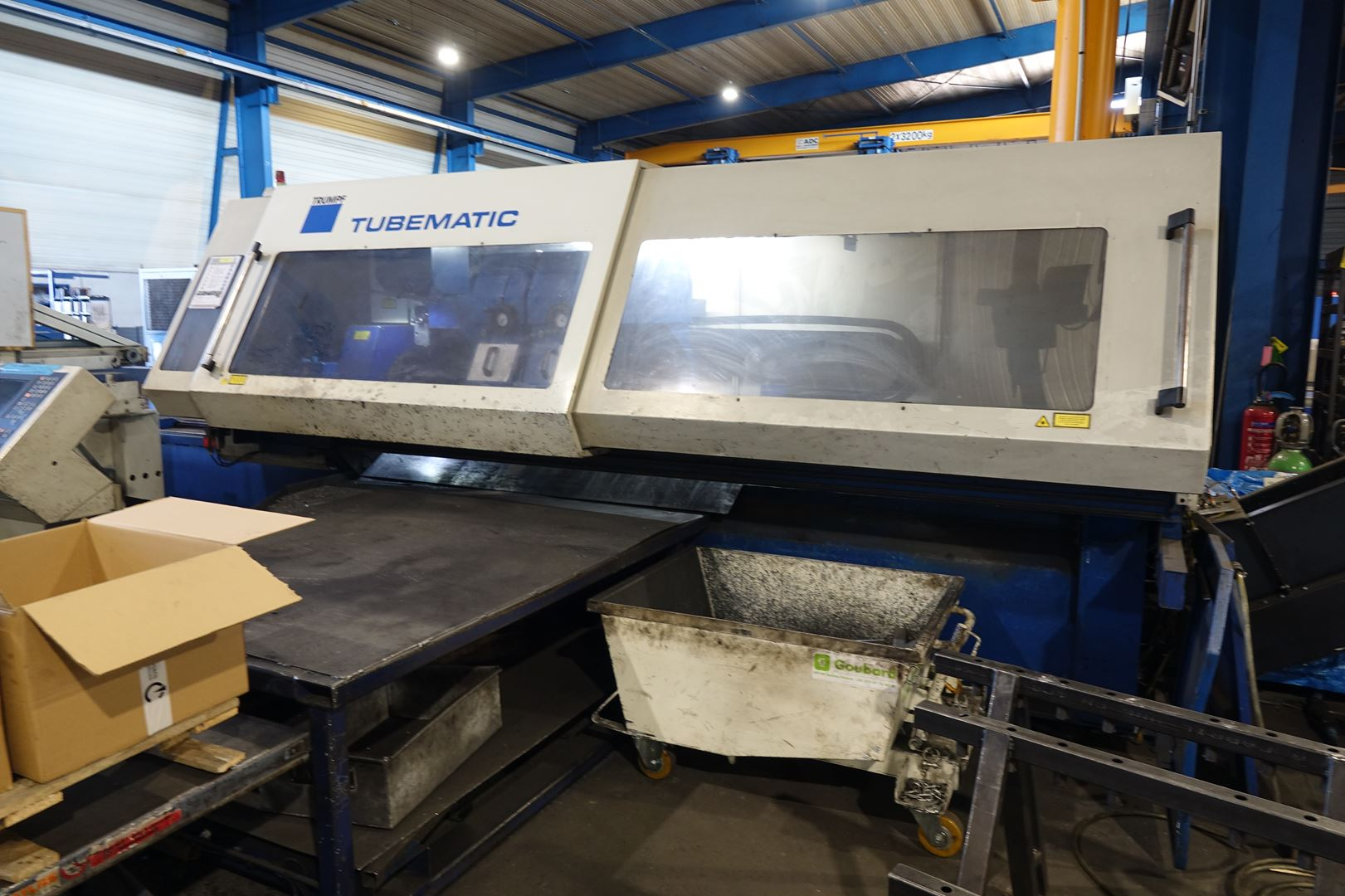 used  Laser Cutting Machine Trumpf Tubematic 5000