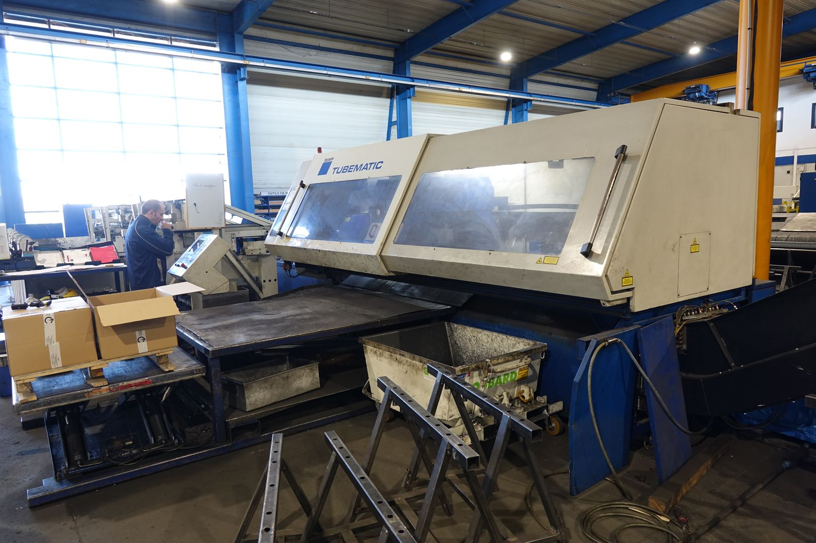 used  Laser Cutting Machine Trumpf Tubematic
