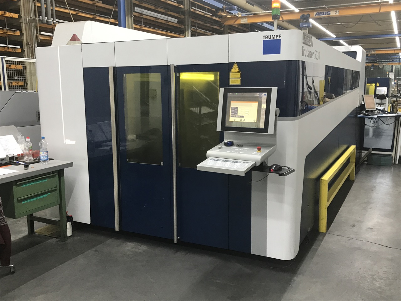 used  Laser Cutting Machine Trumpf TruLaser 5030 Fiber - 3 kW