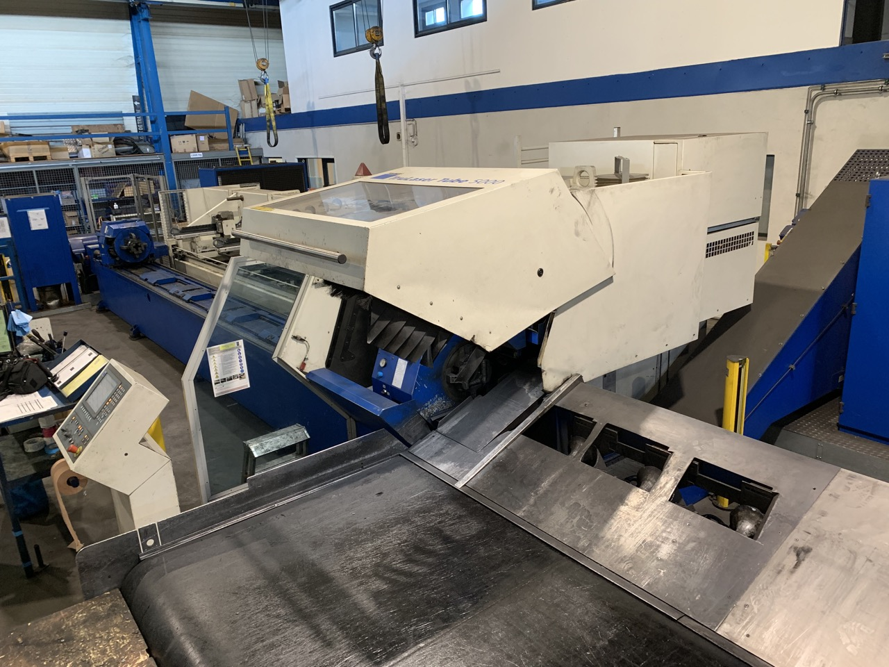 used  Laser Cutting Machine Trumpf TruLaser Tube 5000