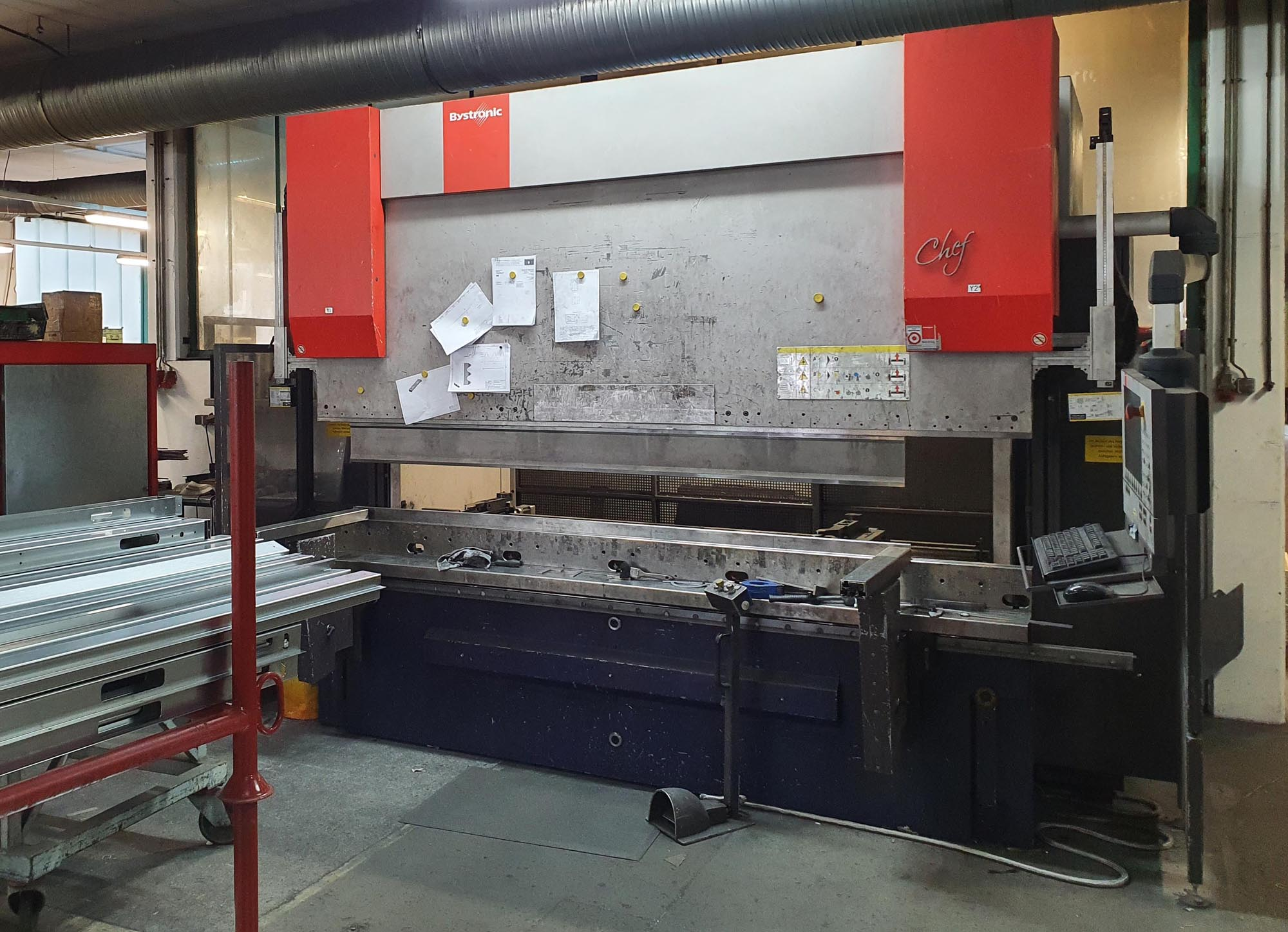 used  Press Brake - Hydraulic Bystronic Xpert 150/3100