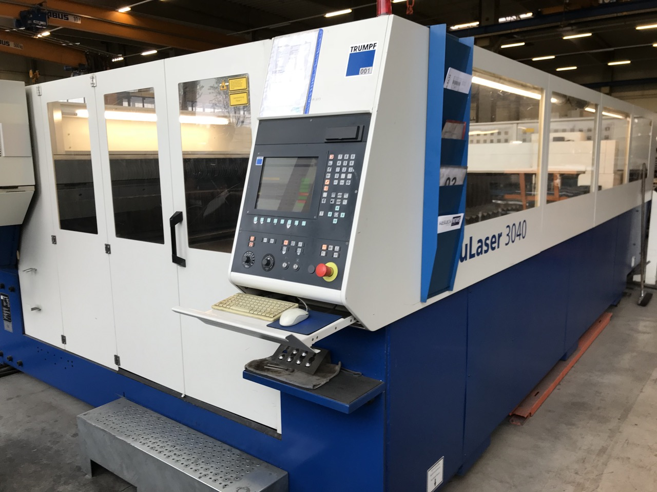 used Laser Cutting Machine Trumpf TruLaser 3040