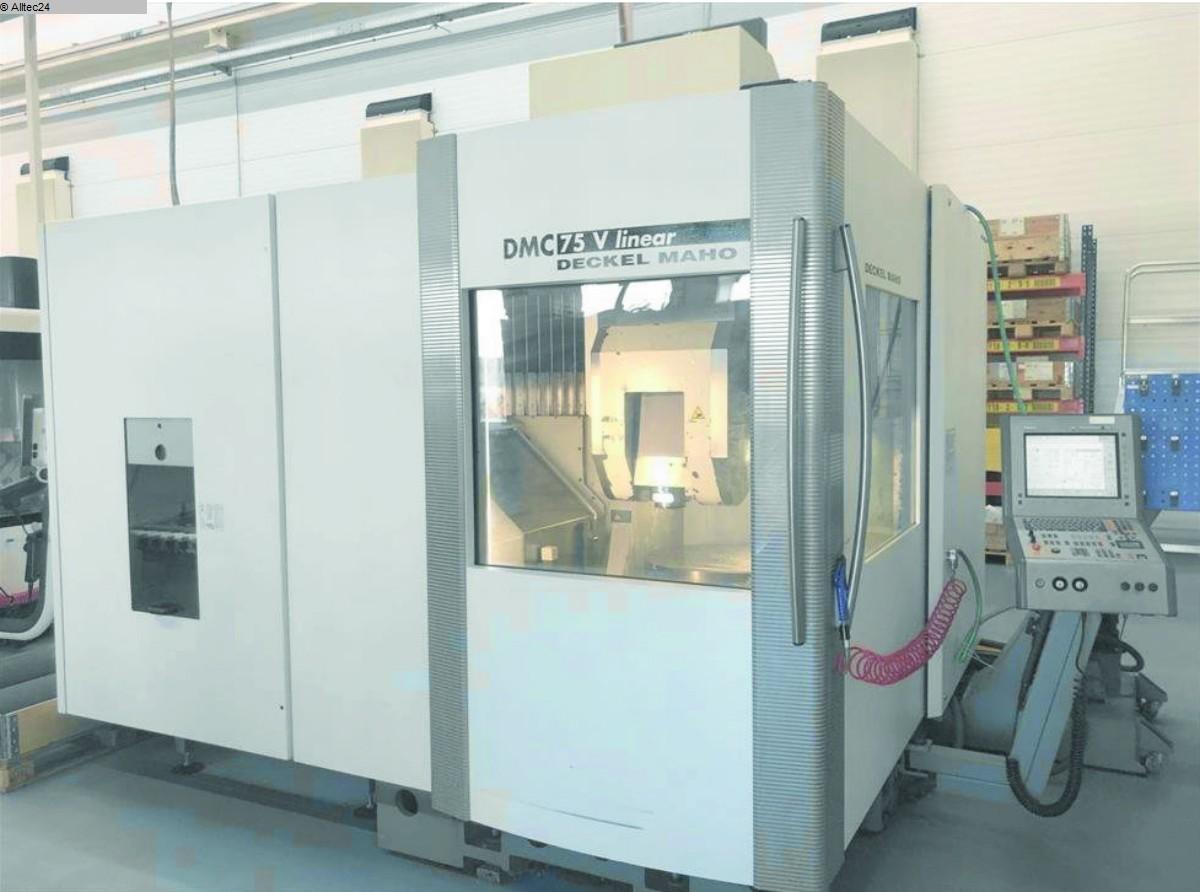 gebrauchte  Bearbeitungszentrum - Vertikal DECKEL MAHO GILDEMEISTER DMC 75V linear