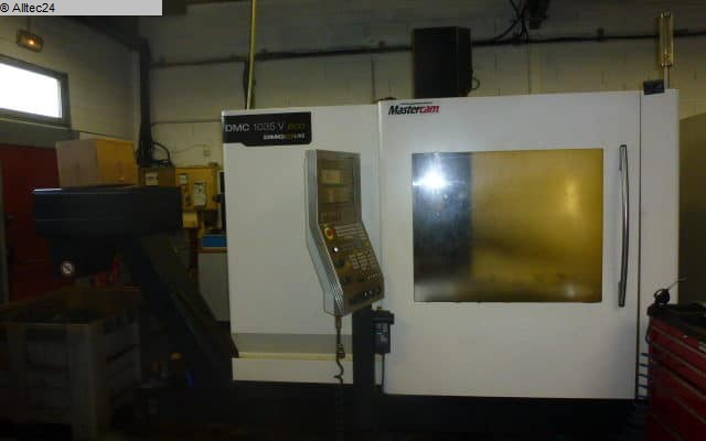 used  milling machining centers - vertical DECKEL MAHO GILDEMEISTER 1035 V ECO