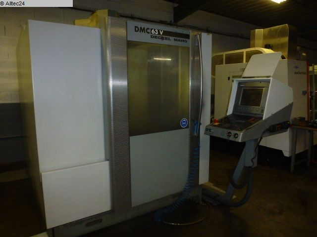 used  milling machining centers - vertical DECKEL MAHO GILDEMEISTER DMC 63 V