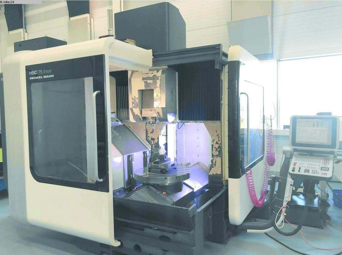 gebrauchte Fräsmaschinen Bearbeitungszentrum - Vertikal DECKEL MAHO GILDEMEISTER HSC75