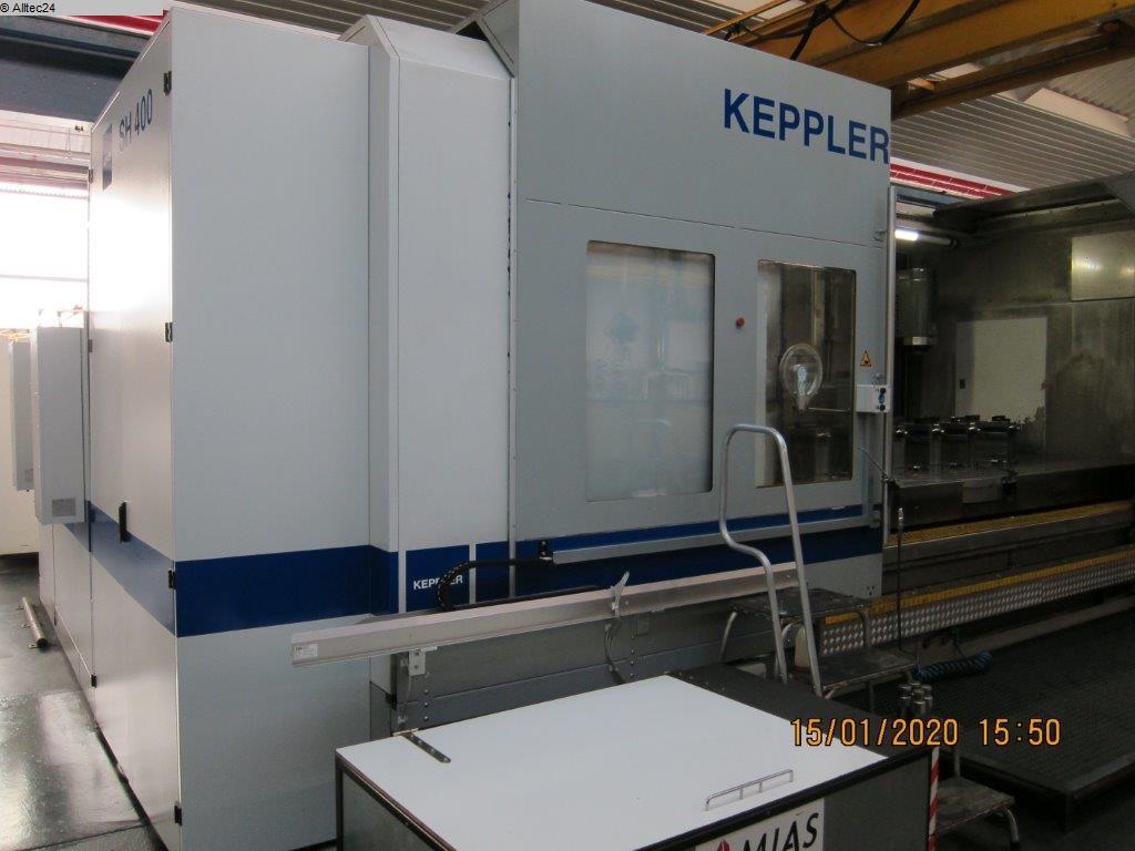 Freze makineleri Kullanılmış kolonlu freze makinesi Keppler FSH 400
