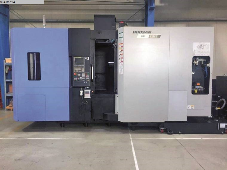 used Boring mills / Machining Centers / Drilling machines Machining Center - Horizontal DOOSAN HP 5100 I
