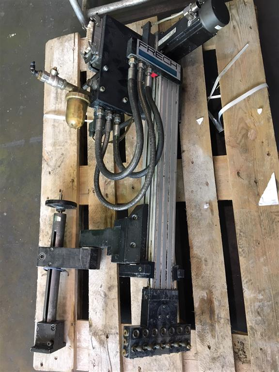 used Diecasting Machines  FRECH Spraymotion 411 E