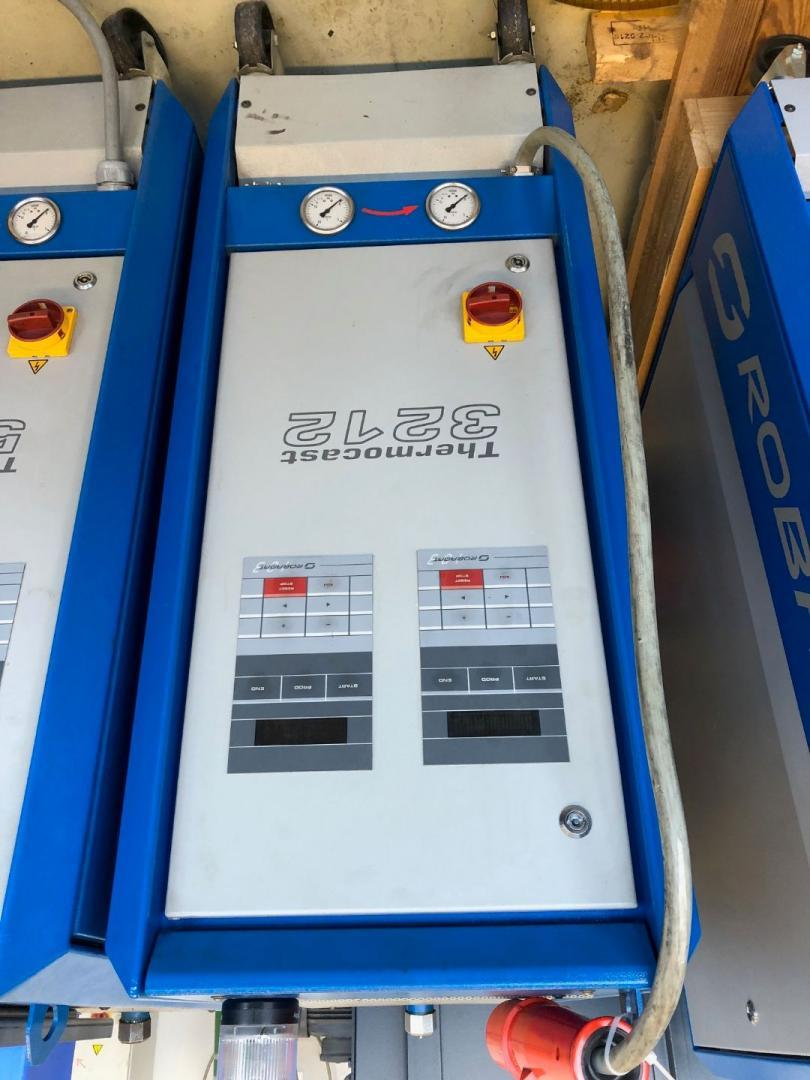 used Diecasting Machines Accessories for Diecasting Machines ROBAMAT 3212