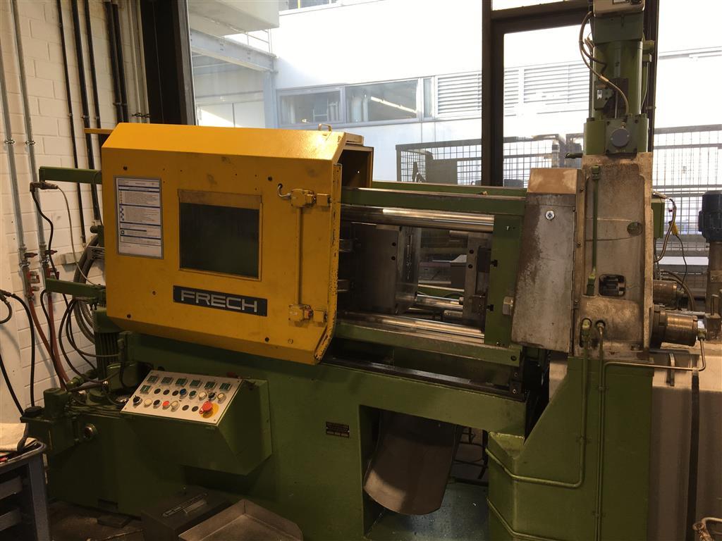 used Diecasting Machines Hot-Chamber Diecasting Machine - Vertic. FRECH DAW 80