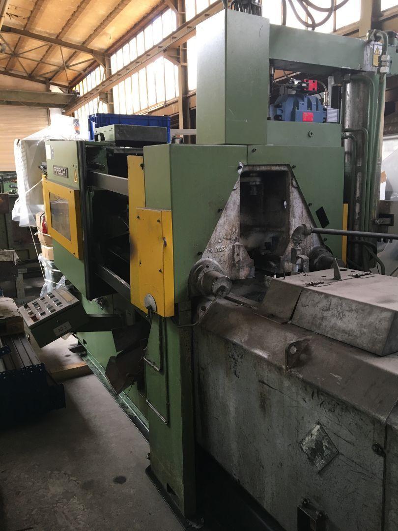 used Diecasting Machines Hot-Chamber Diecasting Machine - Vertic. FRECH DAW 80S
