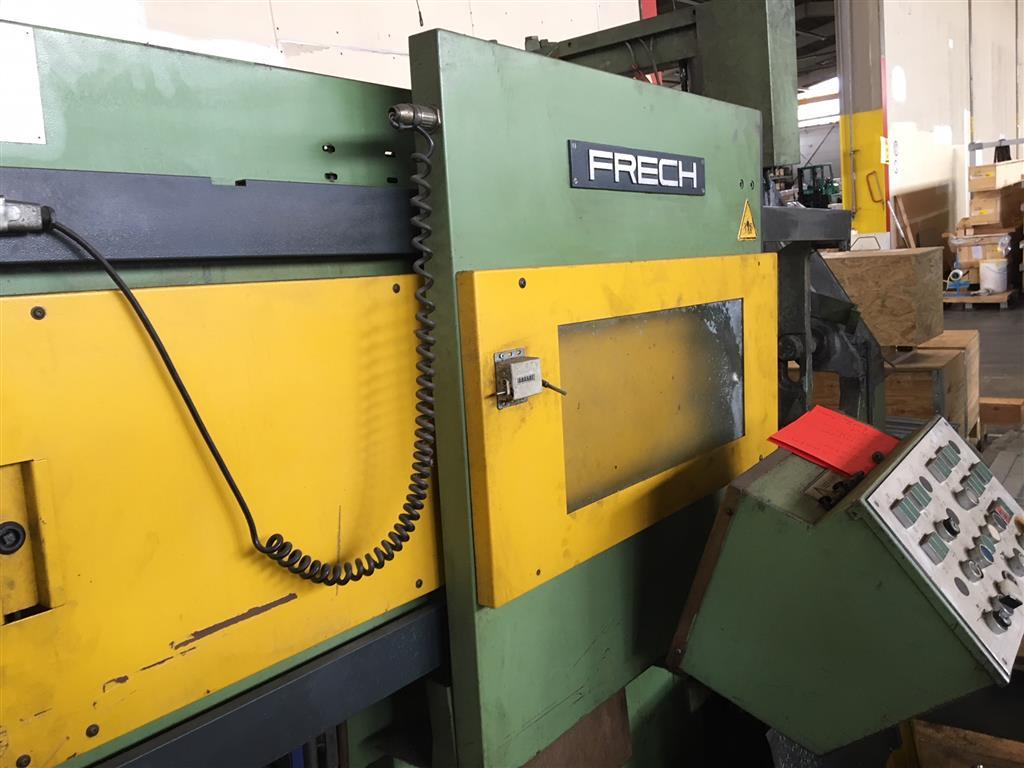używane maszyny do odlewania ciśnieniowego Maszyna do odlewania na gorąco - pionowa. FRECH DAW 80S