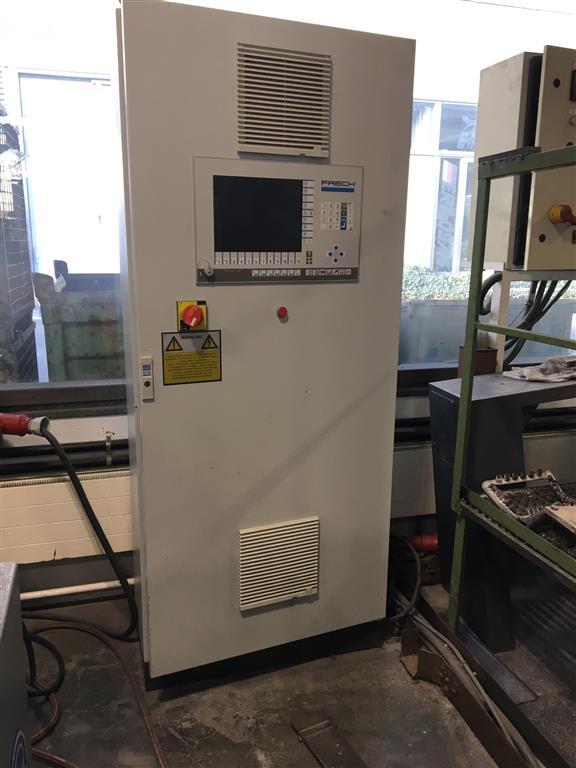 używane maszyny do odlewania ciśnieniowego Maszyna do odlewania na gorąco - pionowa. FRECH DAM 315 S.