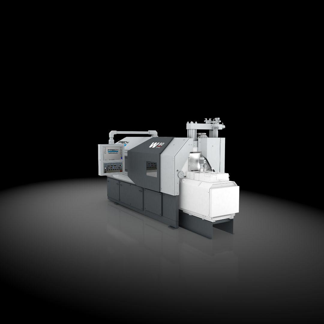 used Diecasting Machines Hot-Chamber Diecasting Machine - Vertic. FRECH W80Zn