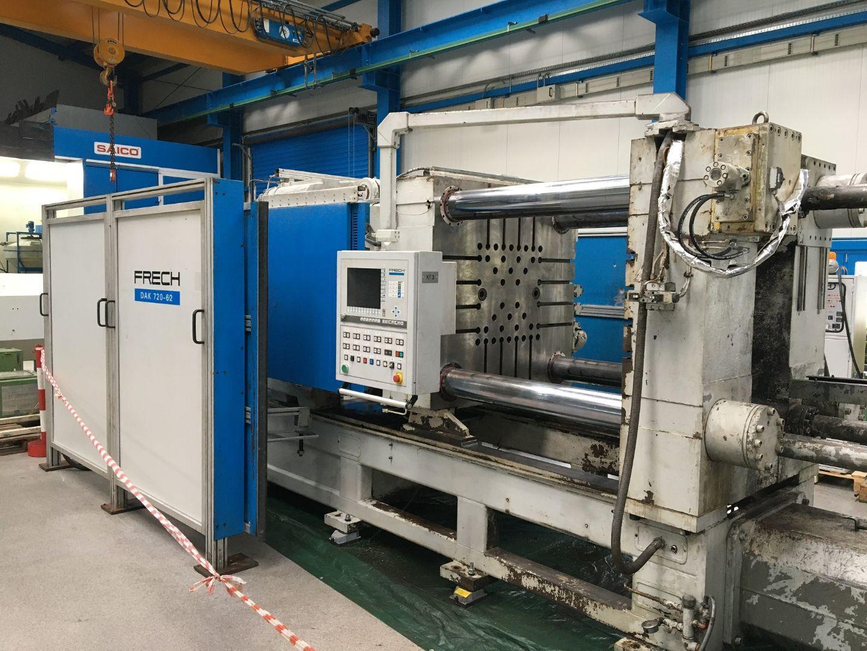 gebrauchte Druckgießmaschinen Kaltkammerdruckgußmaschine - Horizontal FRECH DAK720