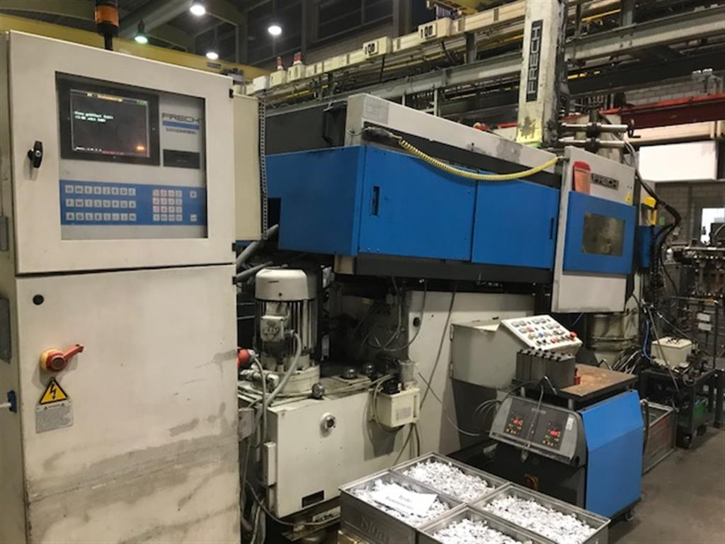 gebrauchte Druckgießmaschinen Warmkammerdruckgußmaschine - Vertikal FRECH DAW 125 S