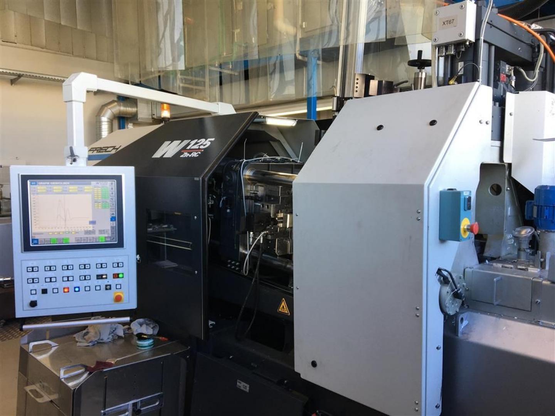 gebrauchte Druckgießmaschinen Warmkammerdruckgußmaschine - Vertikal FRECH W125Zn-RC