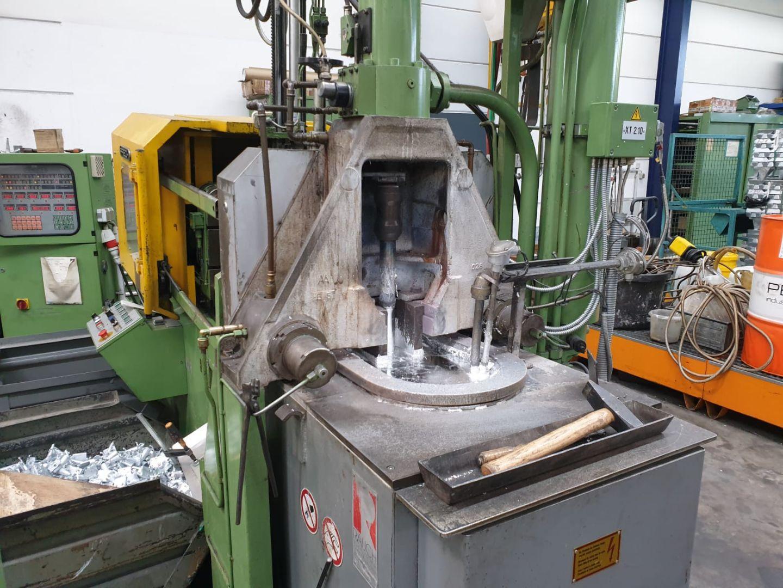 gebrauchte Druckgießmaschinen Warmkammerdruckgußmaschine - Vertikal FRECH DAW 50