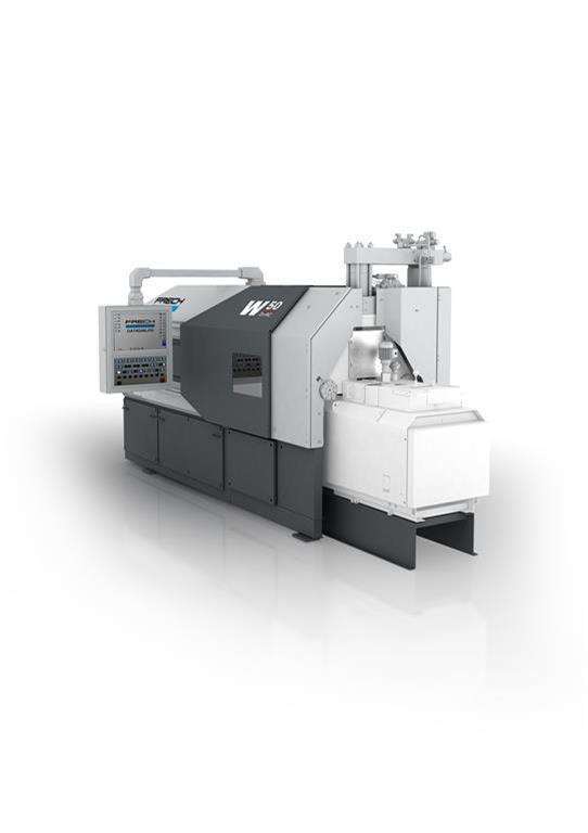 gebrauchte Druckgießmaschinen Warmkammerdruckgußmaschine - Vertikal FRECH W80Zn