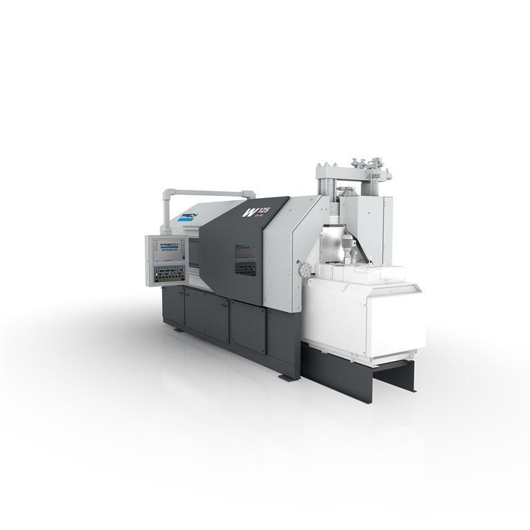 gebrauchte Druckgießmaschinen Warmkammerdruckgußmaschine - Vertikal FRECH W125Zn
