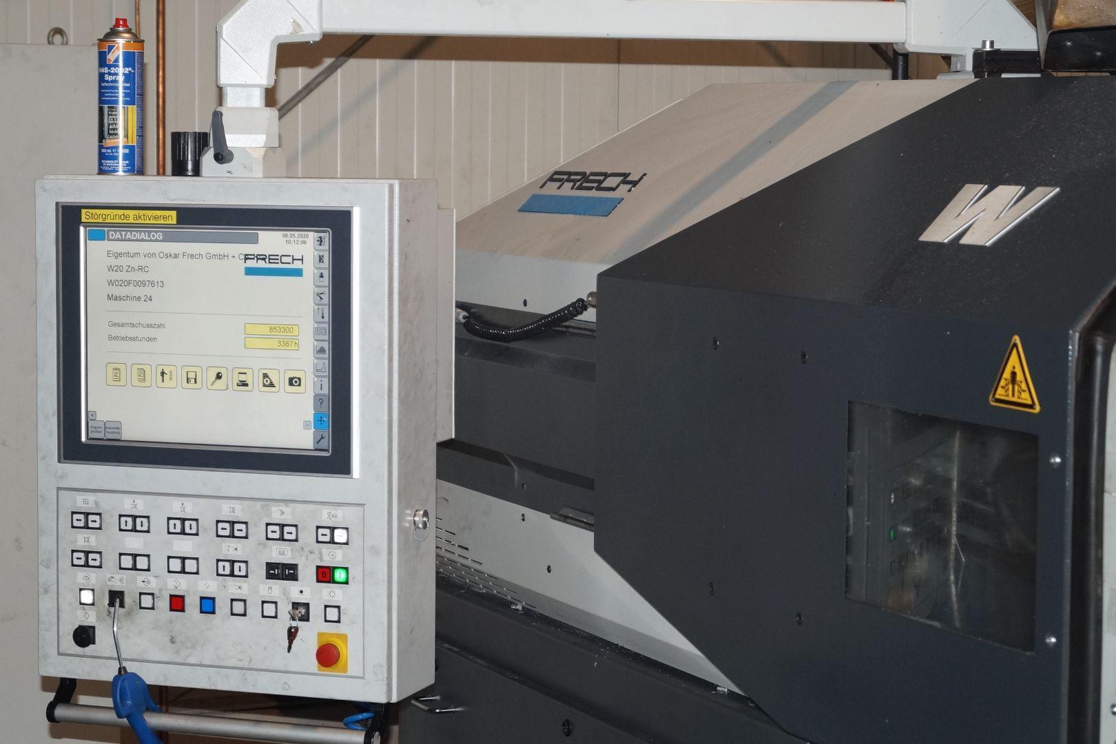 gebrauchte Druckgießmaschinen Warmkammerdruckgußmaschine - Vertikal FRECH W20Zn-RC