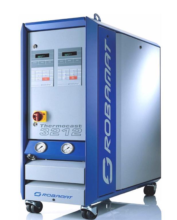 gebrauchte Druckgießmaschinen Zubehör Druckgußmaschinen ROBAMAT 3212