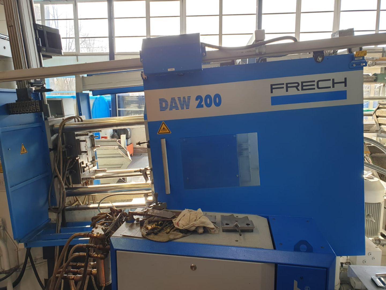 gebrauchte  Warmkammerdruckgußmaschine - Vertikal FRECH DAW 200 GO