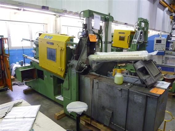 gebrauchte  Warmkammerdruckgußmaschine - Vertikal FRECH DAW 80