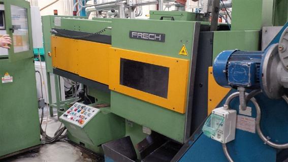 gebrauchte  Warmkammerdruckgußmaschine - Vertikal FRECH DAW 50S