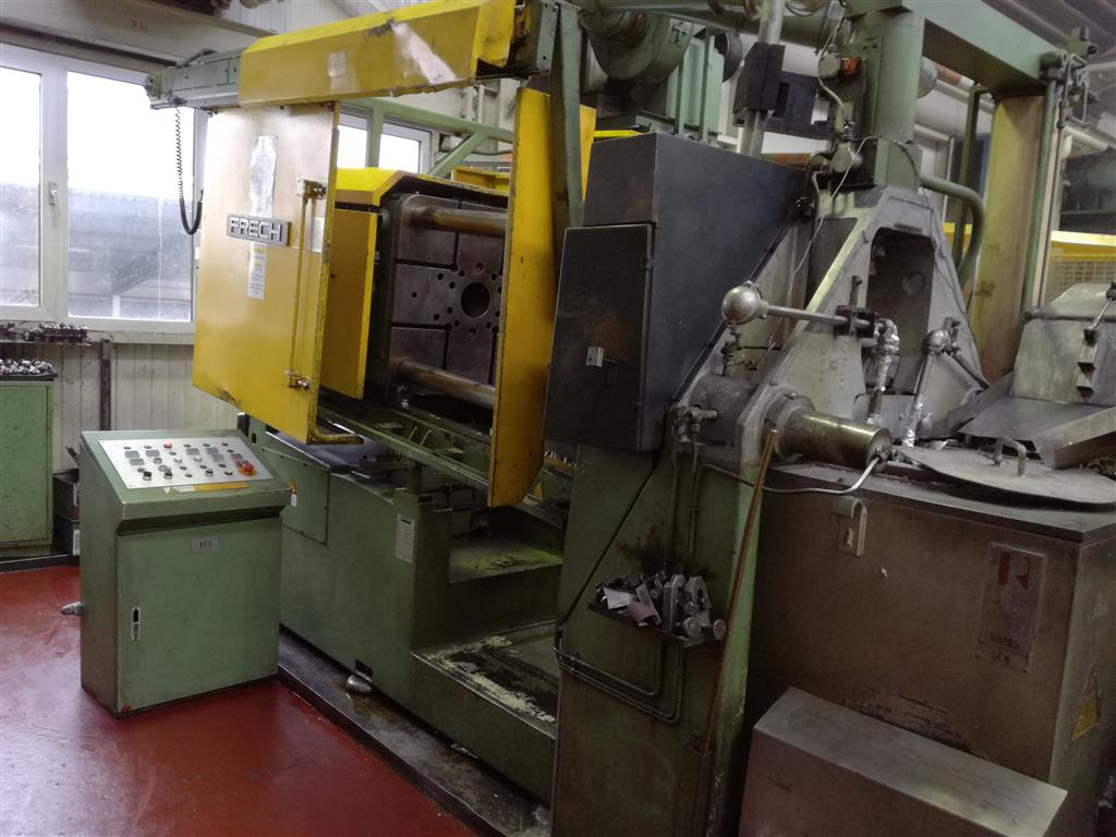 gebrauchte  Warmkammerdruckgußmaschine - Vertikal FRECH DAW 200S