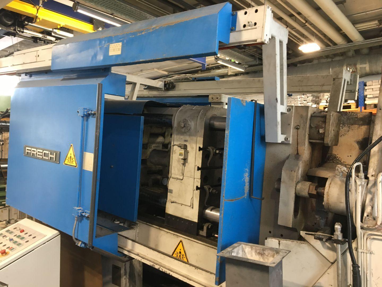 gebrauchte  Warmkammerdruckgußmaschine - Vertikal FRECH DAM 315 S