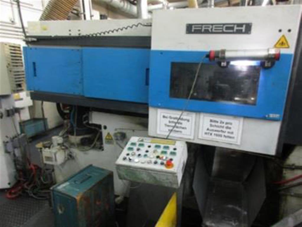 gebrauchte  Warmkammerdruckgußmaschine - Vertikal FRECH DAW 80S