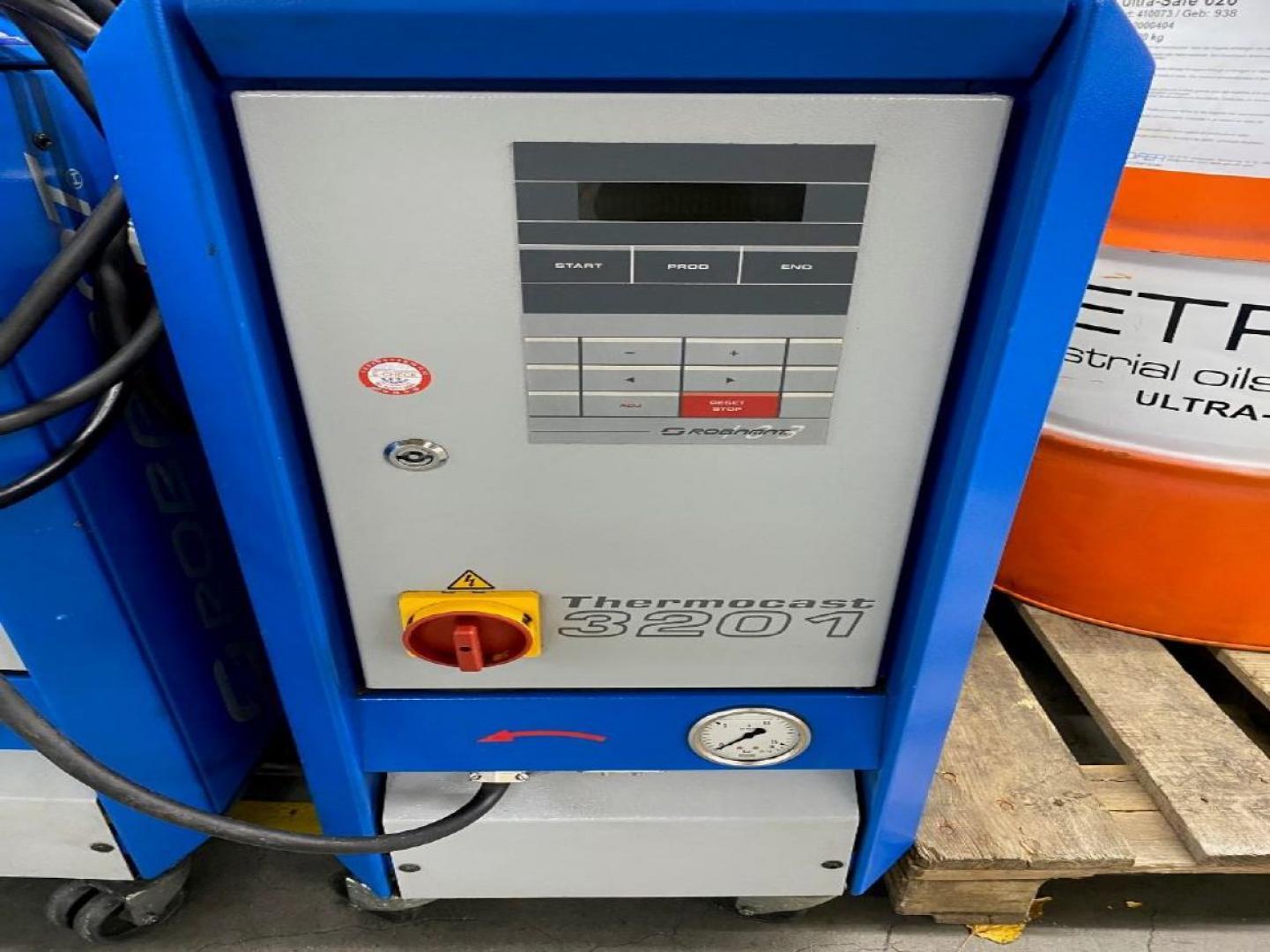gebrauchte  Zubehör Druckgußmaschinen ROBAMAT 3201