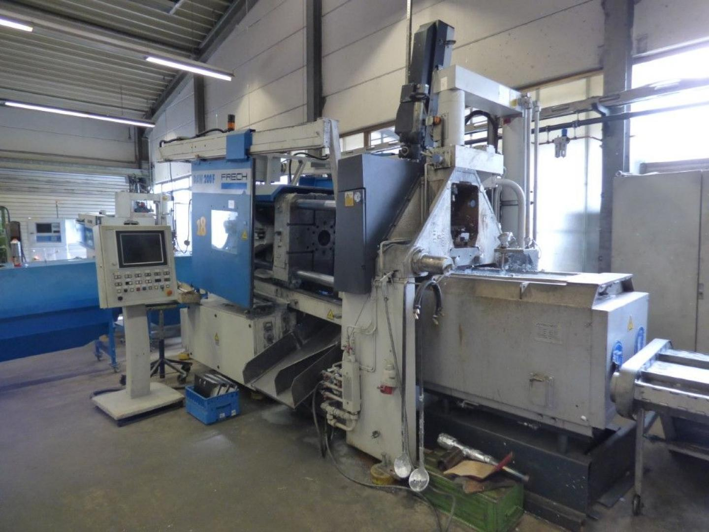 used  Hot-Chamber Diecasting Machine - Vertic. FRECH DAW 200 F
