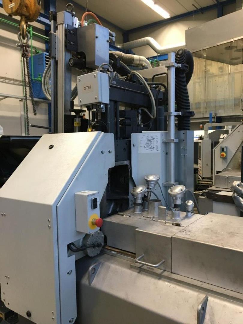 used  Hot-Chamber Diecasting Machine - Vertic. FRECH DAW20F-RC
