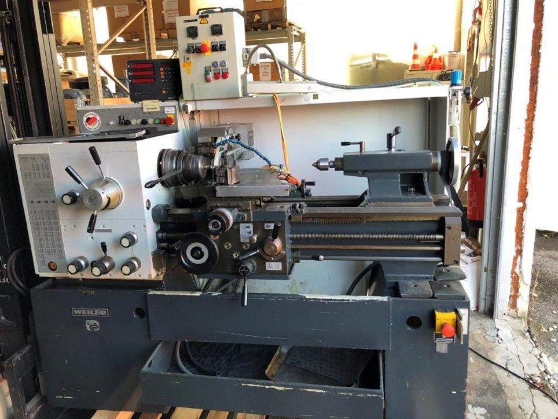 rabljeni strojevi dostupni odmah Center Lathe WEILER Commodor