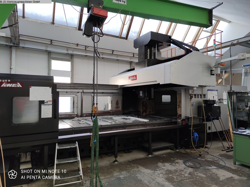 used Milling machines Planer-Type Milling M/C - Double Column AWEA LP 4021