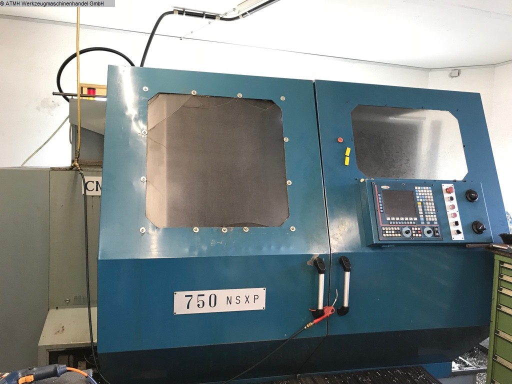 gebrauchte  Drehmaschine - zyklengesteuert GORNATI CMG 750 NSXP