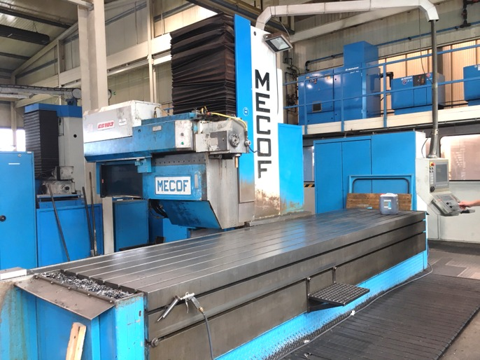 used  Bed Type Milling Machine - Vertical MECOF CS 103