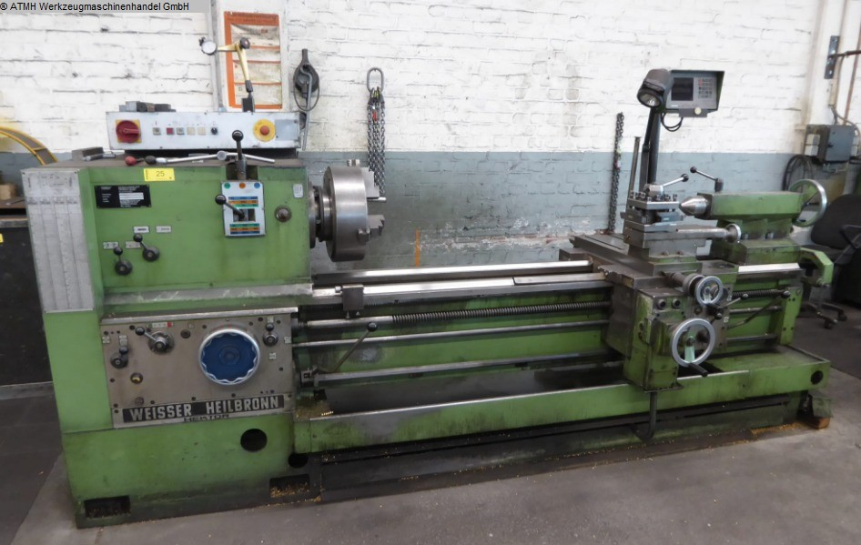 used  lathe-conventional-electronic WEISSER-HEILBRONN Hektor