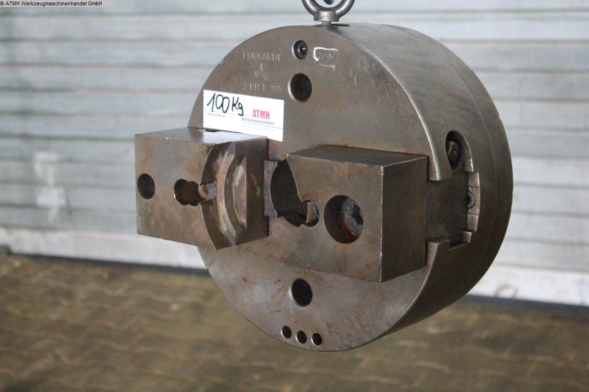 used Other accessories for machine tools Chuck FORKARDT Zweibackenfutter Ø 315 mm